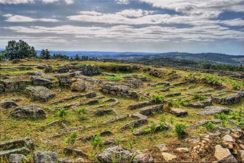 Download Proto-historic Settlement In Sanfins De Ferreira Stock Photo - Image of historic, pacos: 95570658