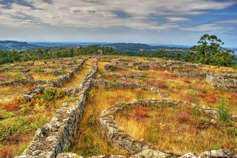Download Proto-historic Settlement In Sanfins De Ferreira Stock Photo - Image of outdoor, bricks: 95570688