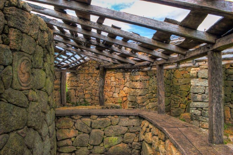 Download Proto-historic Settlement In Sanfins De Ferreira Stock Image - Image of land, outside: 95570813