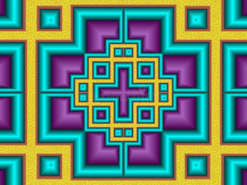 Protocolo en color ilustración del vector