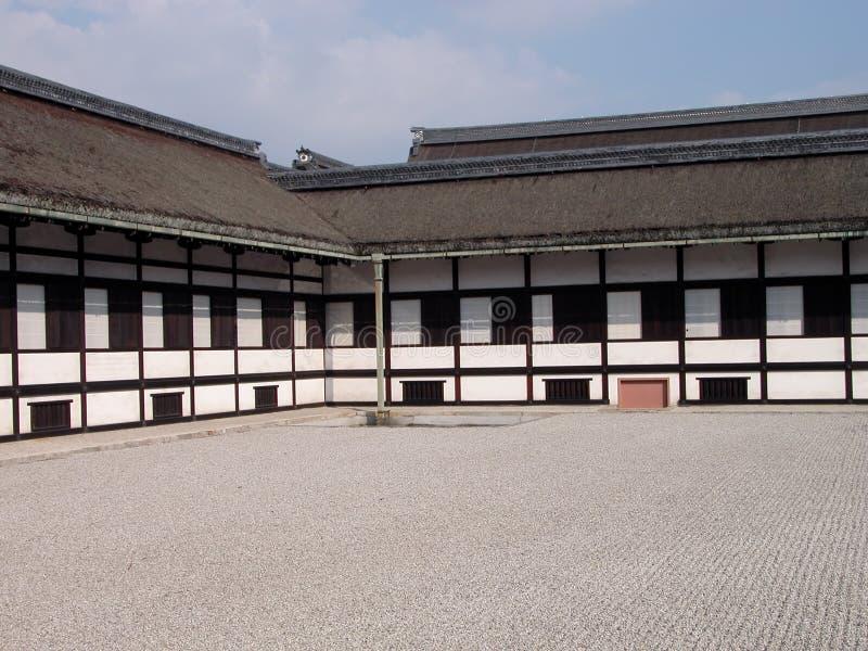 protokół z kioto imperialny pałac budynku. fotografia royalty free