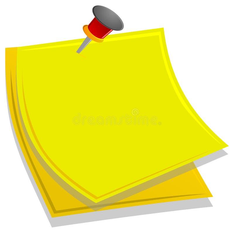 Protokoll lizenzfreie abbildung