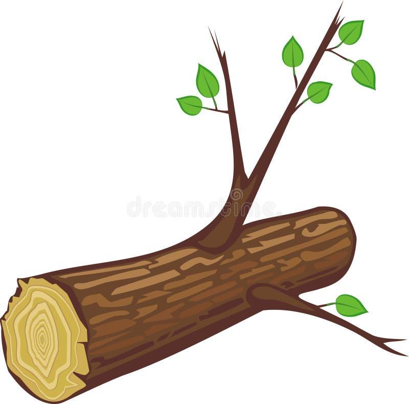 Protokoll mit den Zweigen stock abbildung