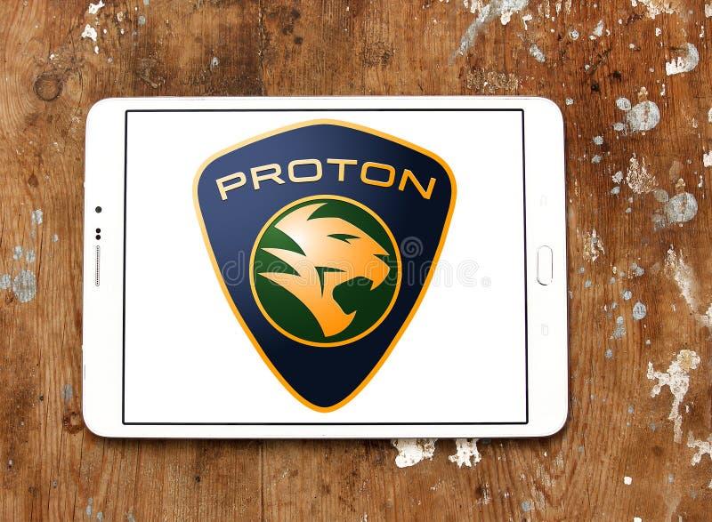 Proton-Autologo stockfotos