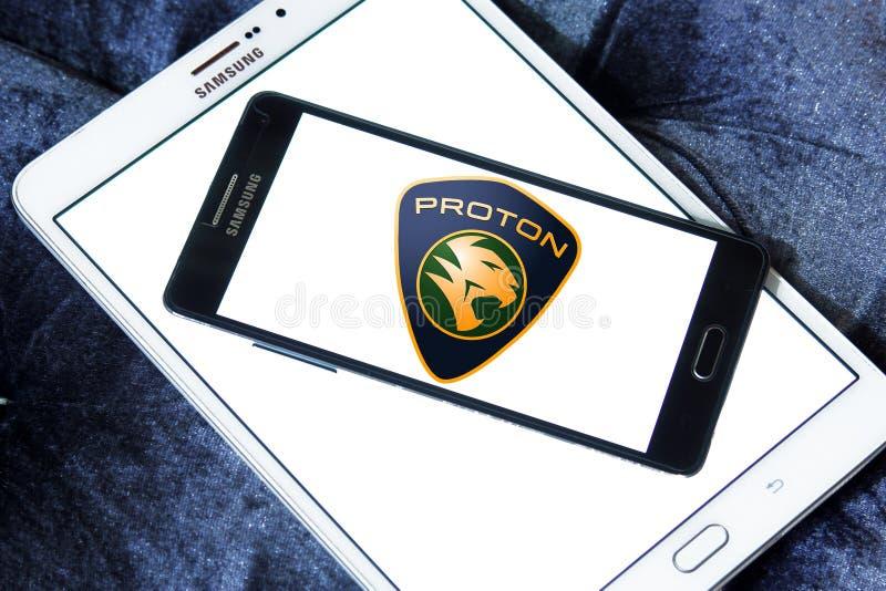 Proton-Autologo stockfotografie