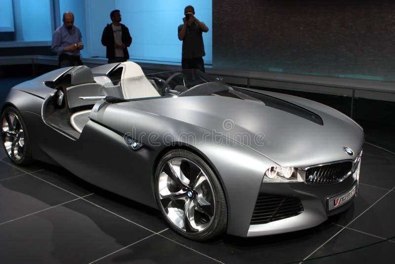 Prototipo de la visión de BMW fotografía de archivo