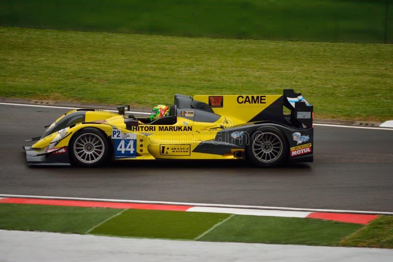 Prototipo di serie LMP2 di Le Mans dell'europeo a Imola 2015 immagini stock libere da diritti