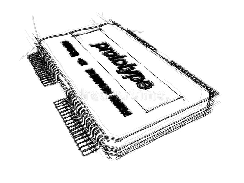 integrated circuit stock illustration  illustration of tech