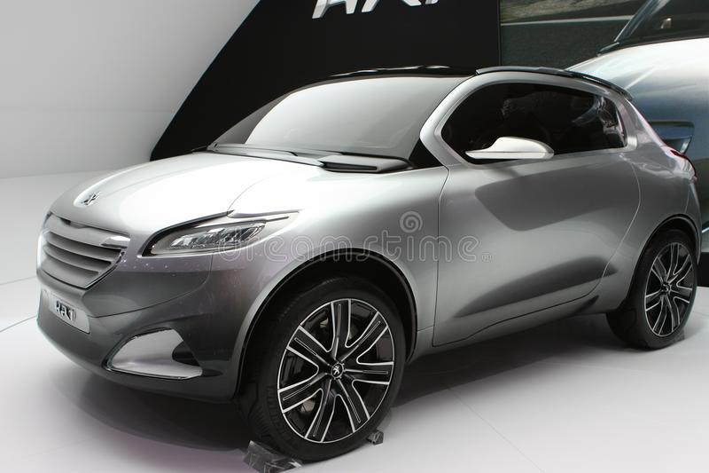 Prototype de Peugeot HR1 images stock