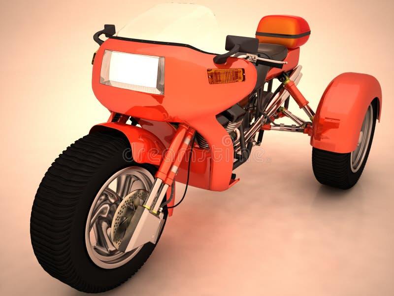 prototyptrehjuling arkivbild