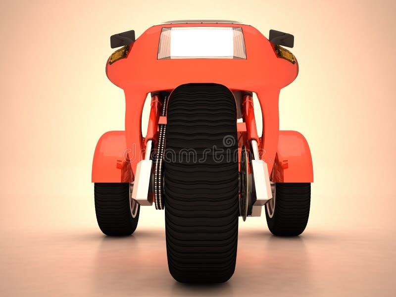 prototyptrehjuling royaltyfria bilder