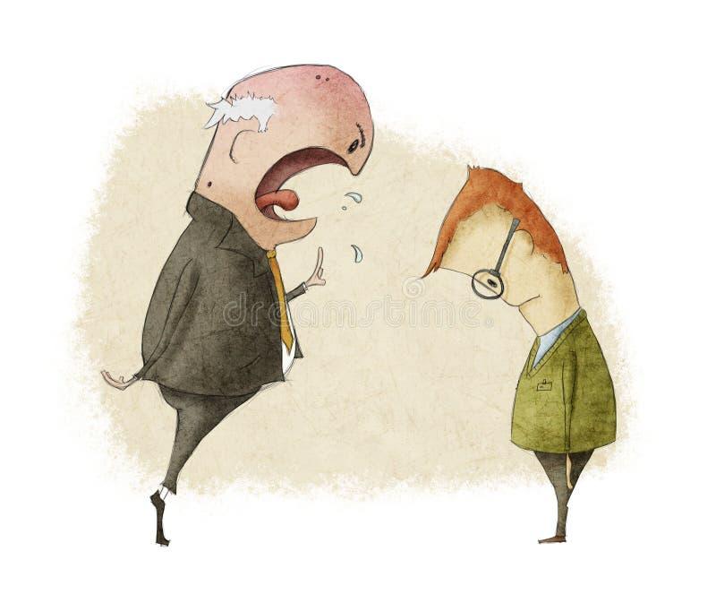 Protuberancia enojada libre illustration