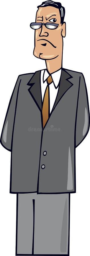 Download Protuberancia severa ilustración del vector. Ilustración de hombre - 7286403