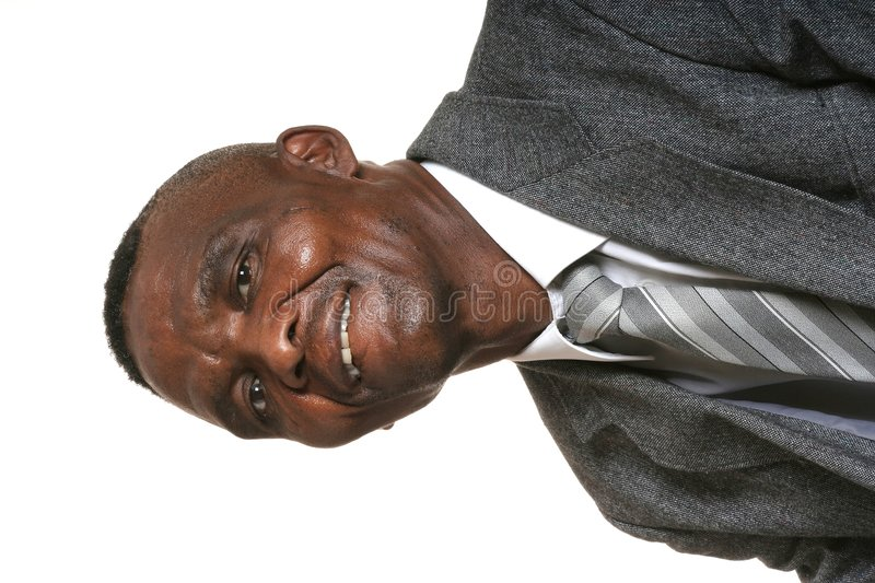 Download Proud African Business Man stock photo. Image of important - 4512932