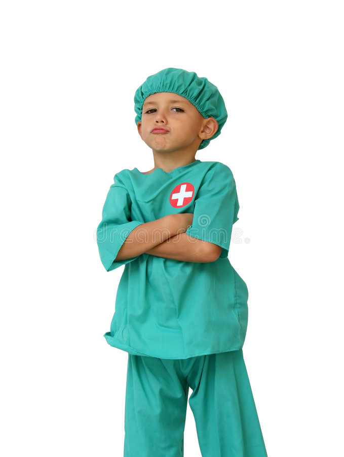 Download Proud doctor stock image. Image of dress, cute, clothes - 1410765