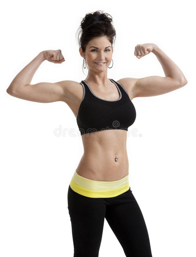 Download Proud Fitness Woman stock photo. Image of conscious, attractive - 23585796