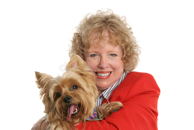 Proud Pet Owner stock photo