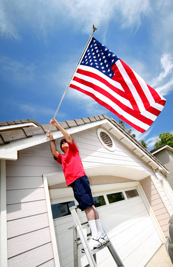 Free Proud To Be An American Stock Photography - 6108002