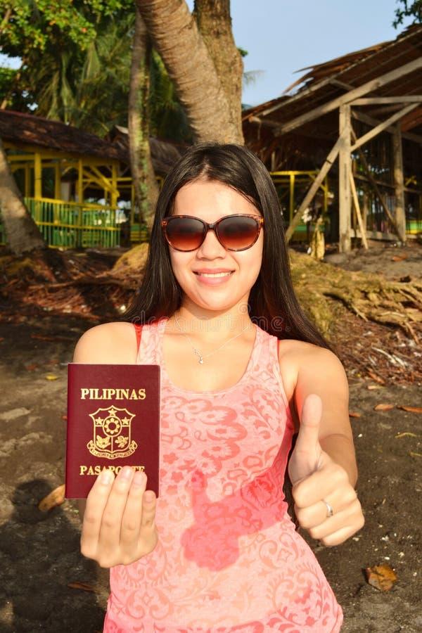 Proudly Filipina stock image