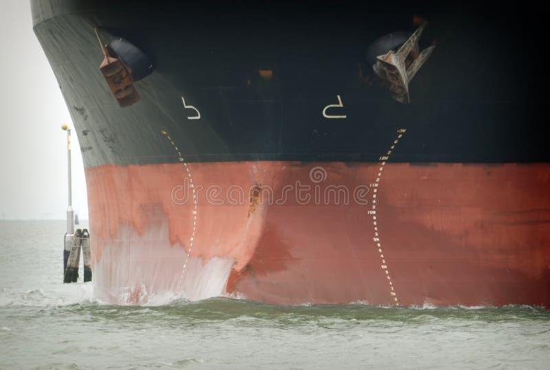 Proue de pétrolier photos libres de droits