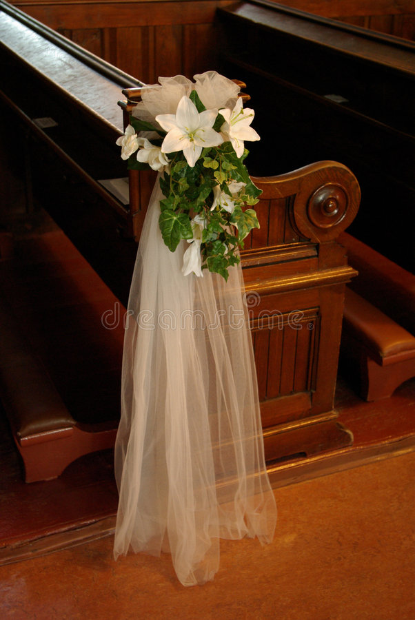 Proue de siège de mariage photographie stock libre de droits