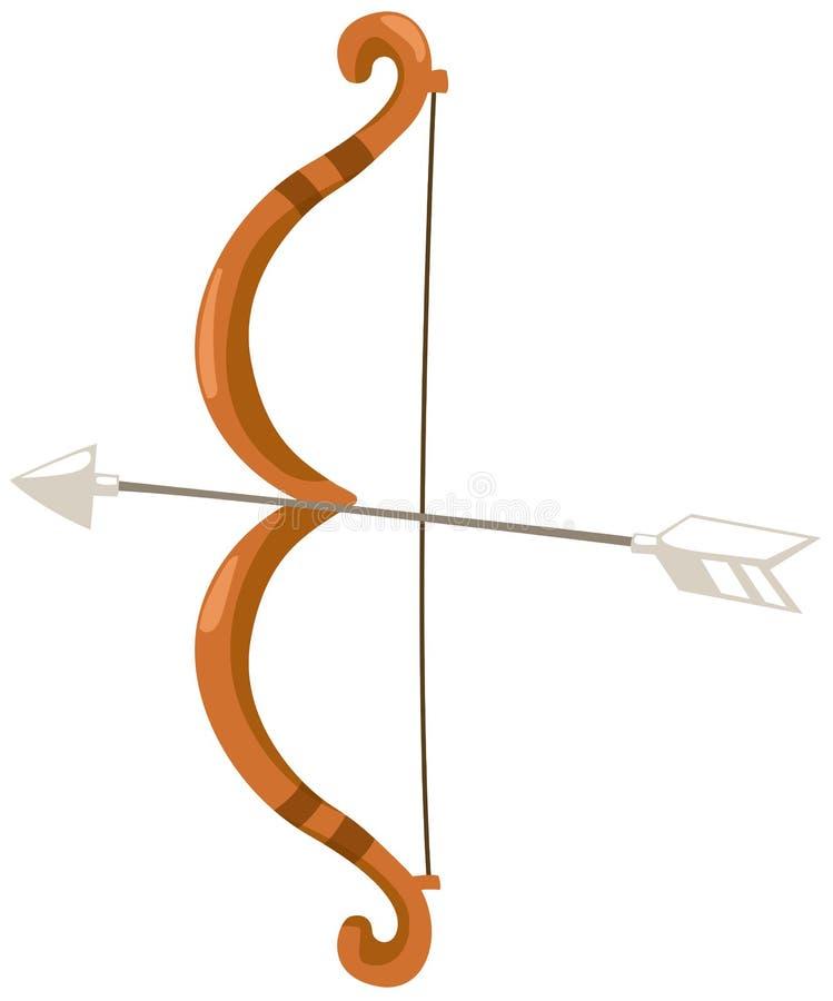 Proue et flèche illustration stock