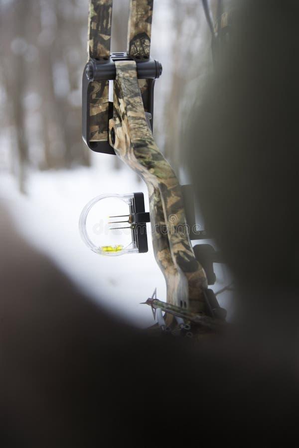 Proue et flèche de camouflage. photographie stock