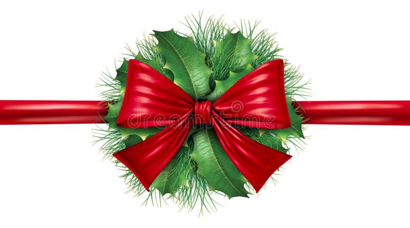 Proue rouge avec le cadre de pin et la décoration circulaire illustration de vecteur