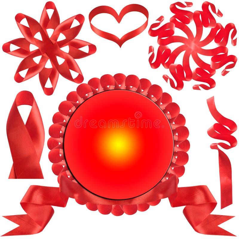Proue rouge, cadeau, la récompense. photos stock