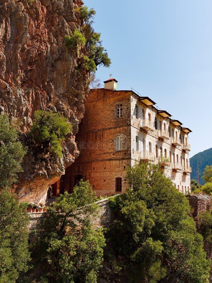 Free Proussos Monastery, Karpenisi, Greece Royalty Free Stock Image - 98829956
