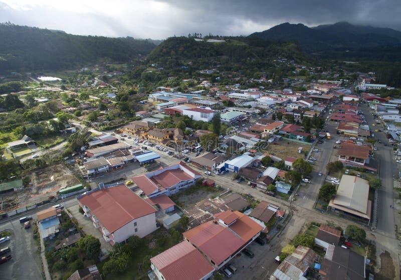 Província das construções da cidade da vista geral de Panamá imagens de stock royalty free