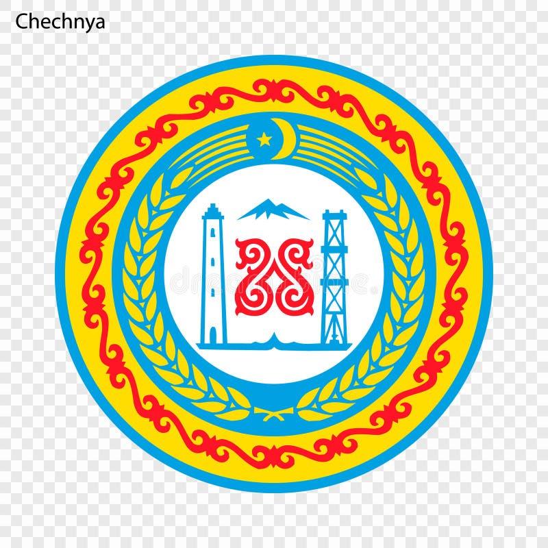 Província do emblema Ilustração do vetor ilustração stock
