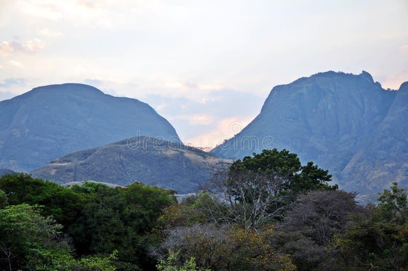 Província Landscape_Northern Moçambique de Niassa foto de stock royalty free