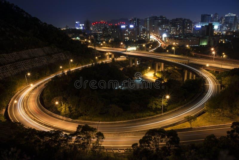 Prova leggera nell'occhio del distretto di Xindian immagini stock