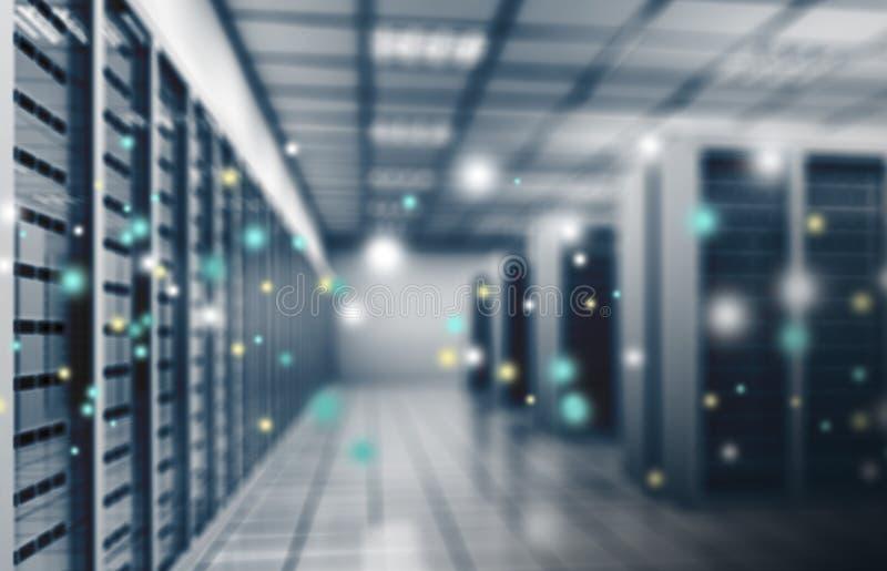 Provedor de Internet, centro de dados imagens de stock