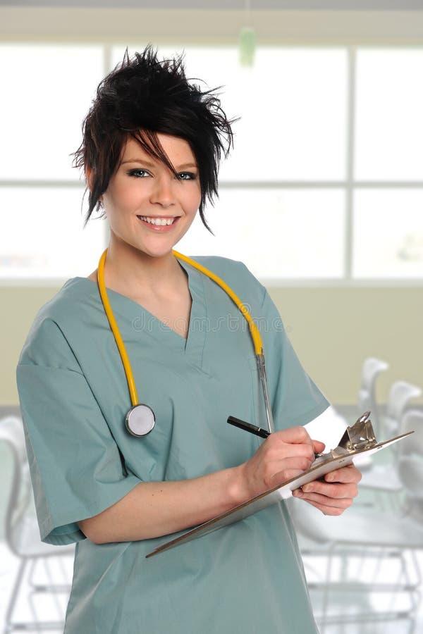 Proveedor de asistencia sanitaria foto de archivo libre de regalías
