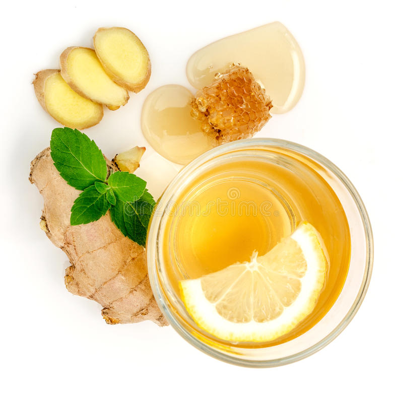 Proven Health Benefits of Ginger Can Treat Many Forms of Nausea, Especially Morning Sickness? Ginger Contains a Substance Prevent. Cancer? Ginger Powder May royalty free stock photo