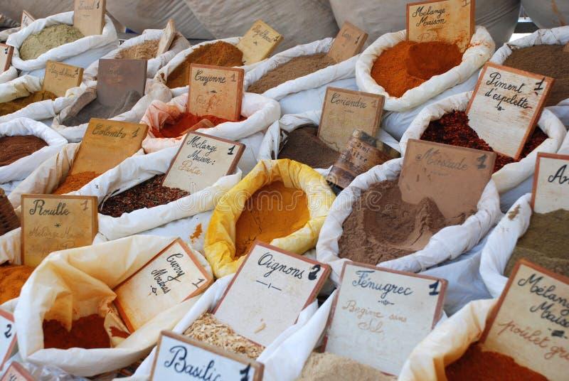 provencal örtar arkivbilder