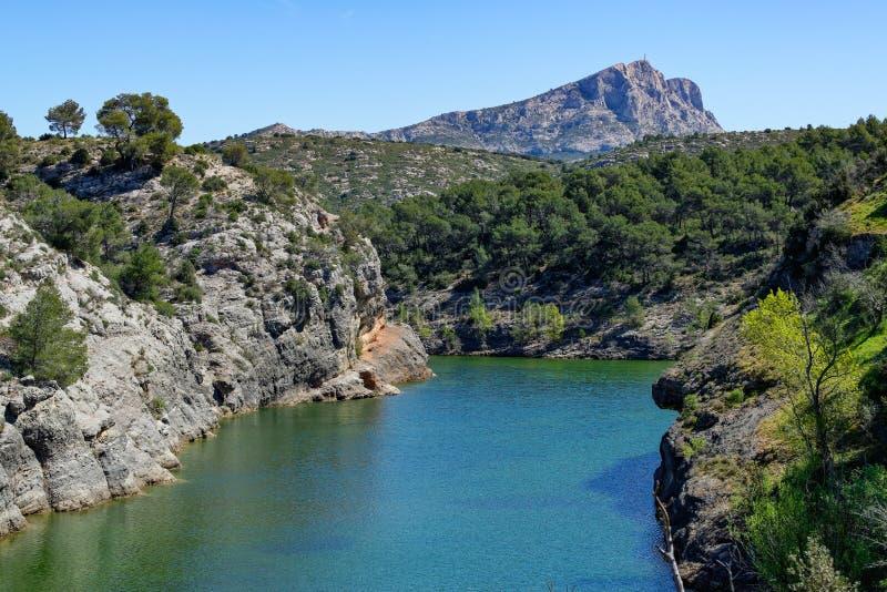 provencal krajobrazu zdjęcie royalty free