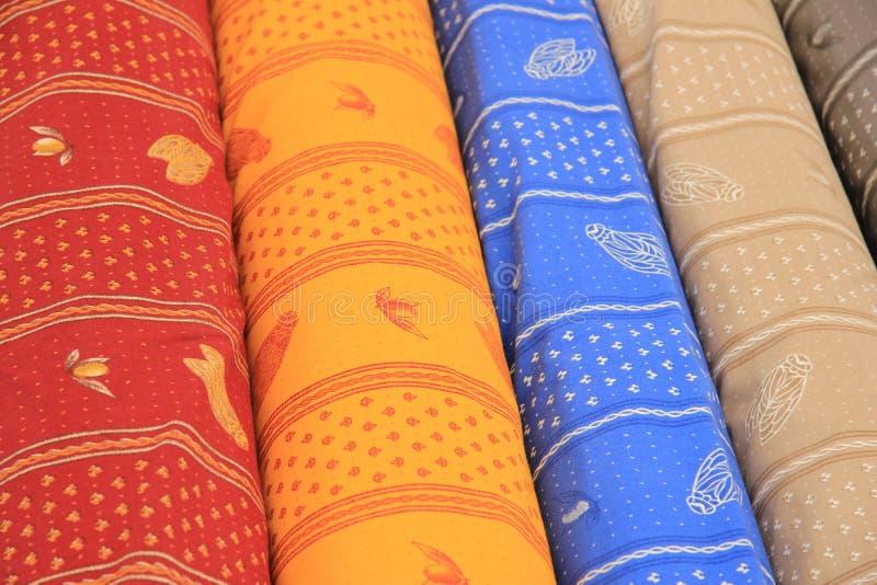 Provencal textil royaltyfria foton