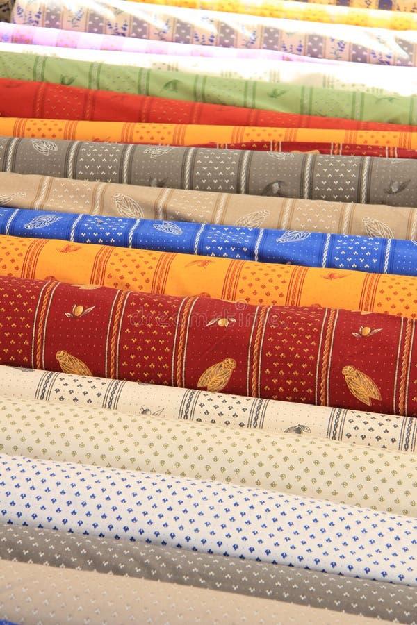 Provencal textil royaltyfri bild
