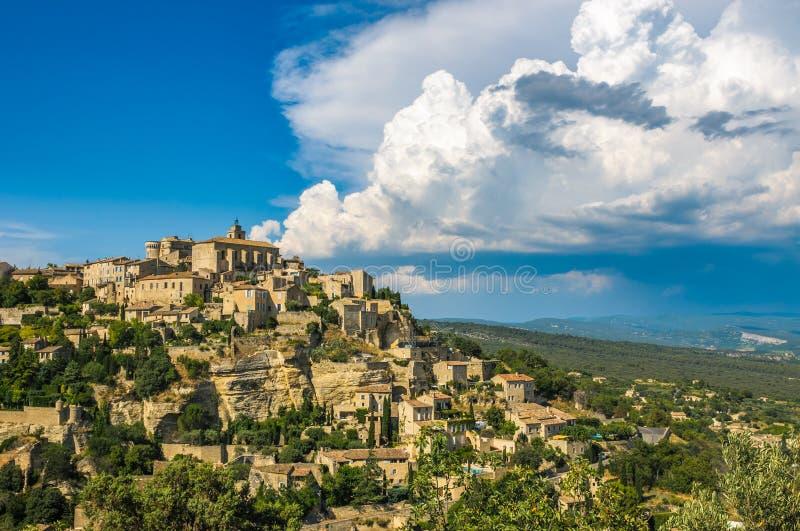 Provencal village of Gordes, France stock image
