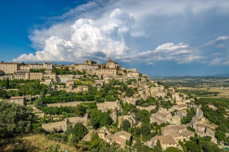Provencal village of Gordes, France royalty free stock photos