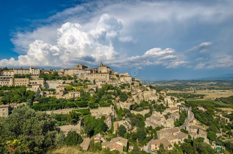 Provencal village of Gordes, France stock photography