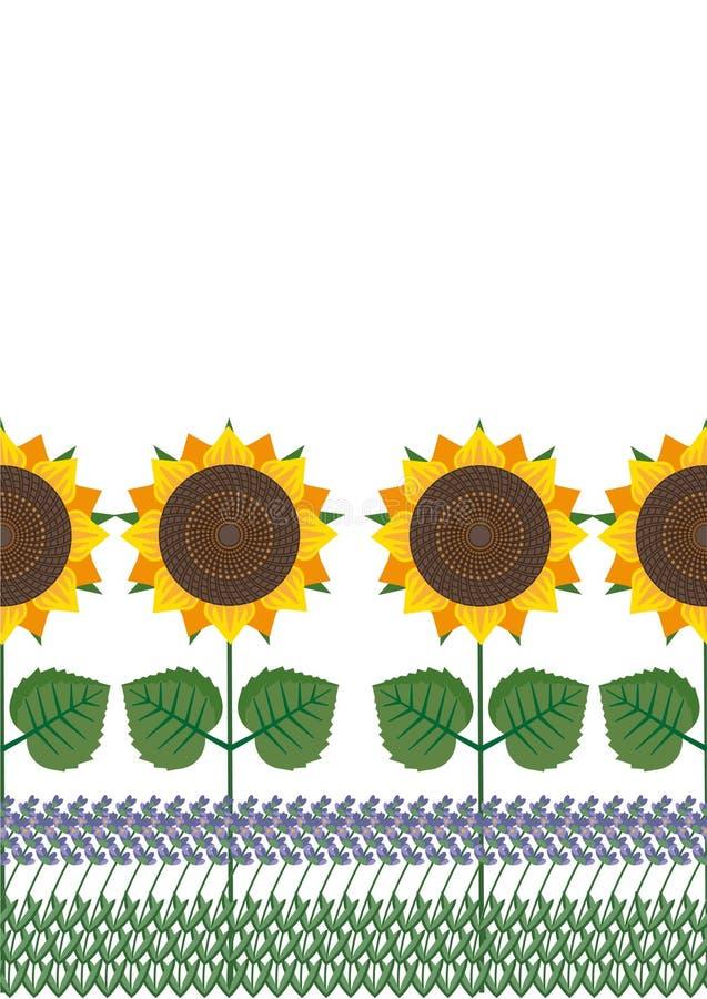 Provence ilustración del vector