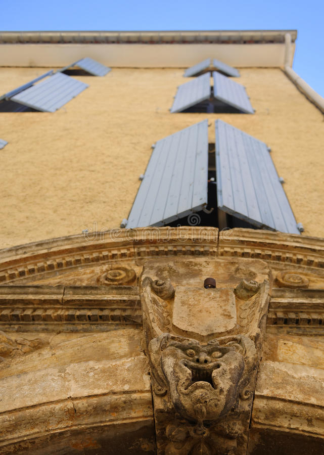 Provence-Architektur stockfotos