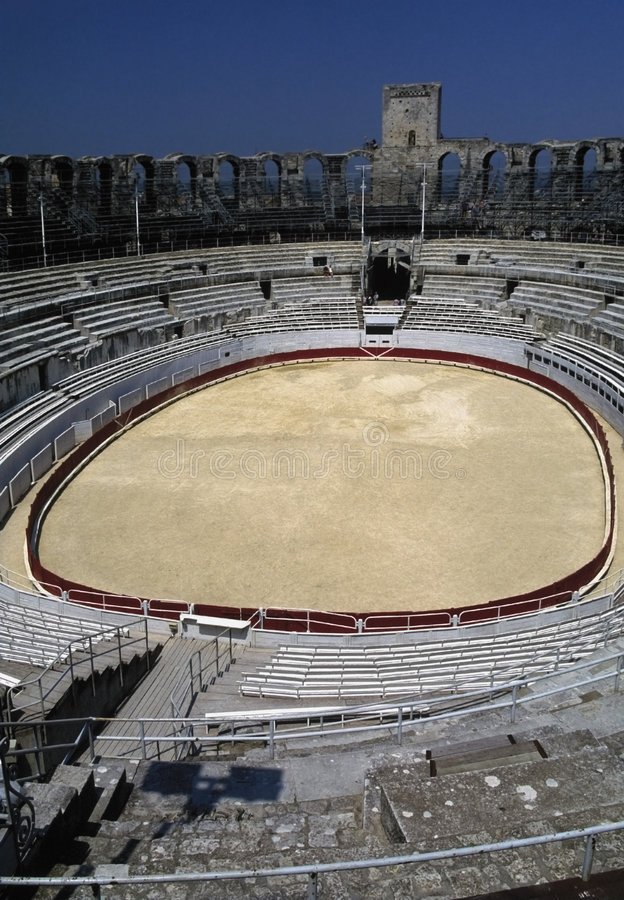 Download Provence arles roman arena stock image. Image of vacations - 1863379