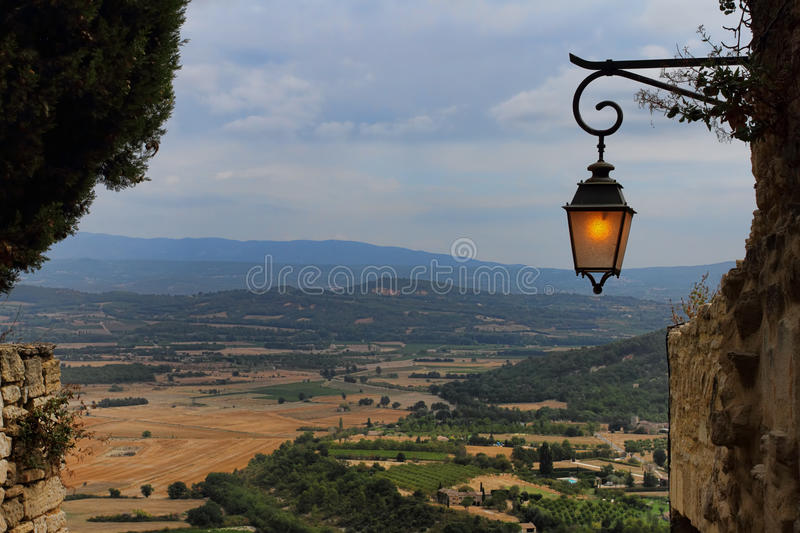 Download Provence from Gordes stock photo. Image of french, europe - 26632230