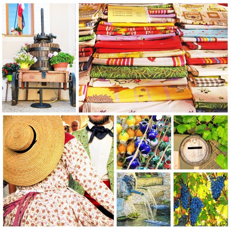 Provence, Süden von Frankreich lizenzfreie stockfotografie