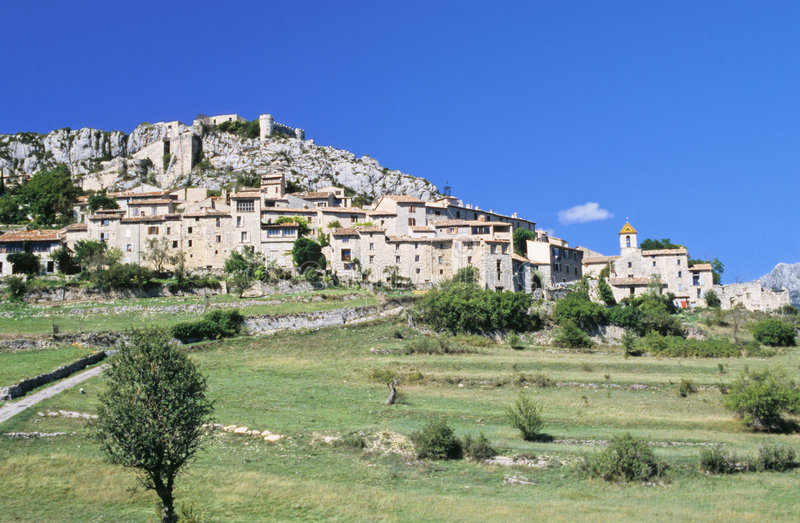 Download Provence village stock photo. Image of trip, hill, travel - 1405308